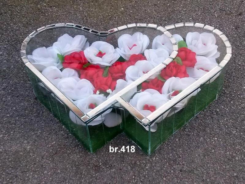 srednje duplo srce 418