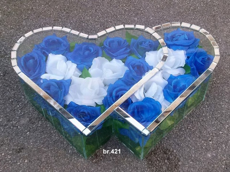 srednje duplo srce 421