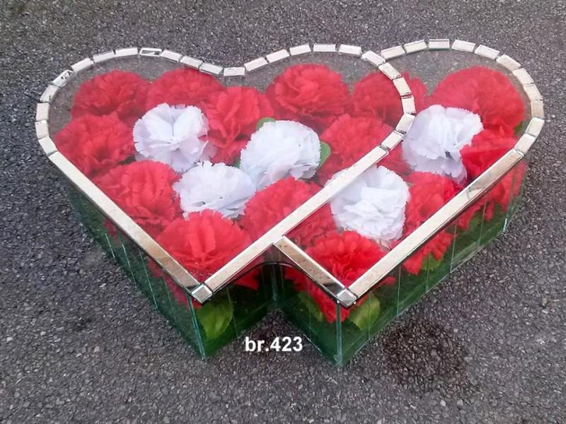 srednje duplo srce 423