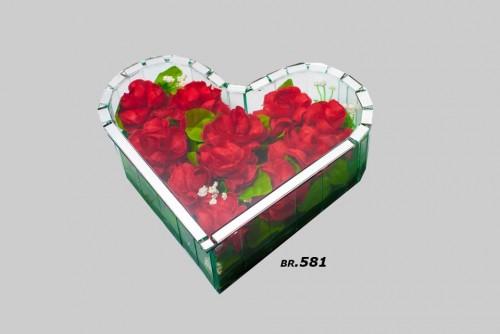 Ukrasi za groblje – malo srce – 800 din
